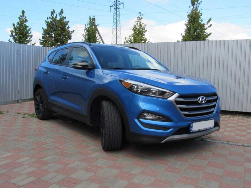 Прокат внедорожника Hyundai Tucson